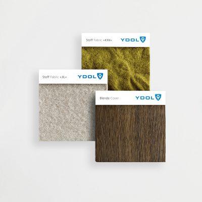 YDOL Beratung Muster Stoffe Akustikstoff JIL