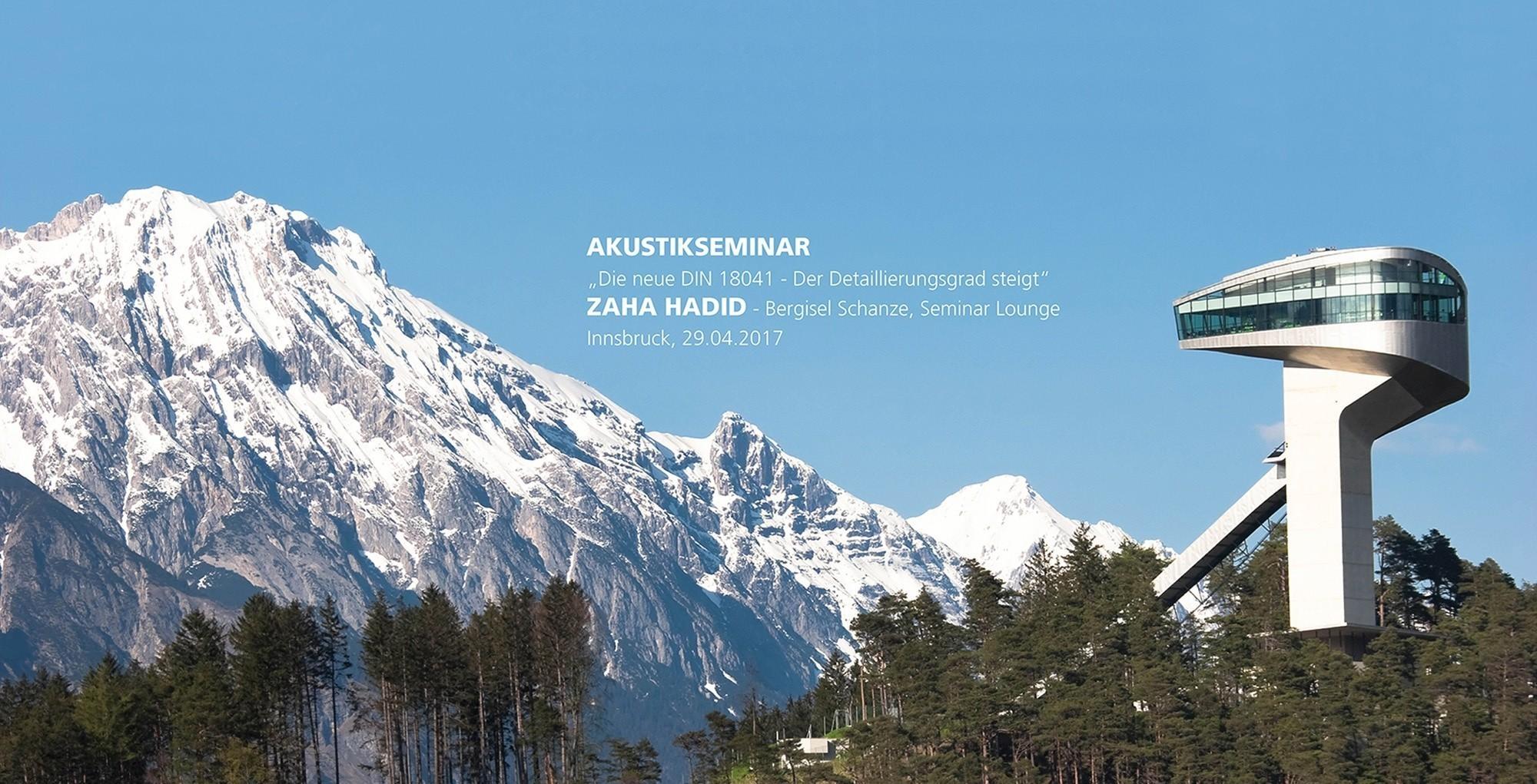 Akustikseminar Innsbruck, 29.04.2017 2